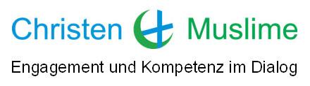 Logo Muslime und Christen. Engagement und Kompetenz im Dialog.